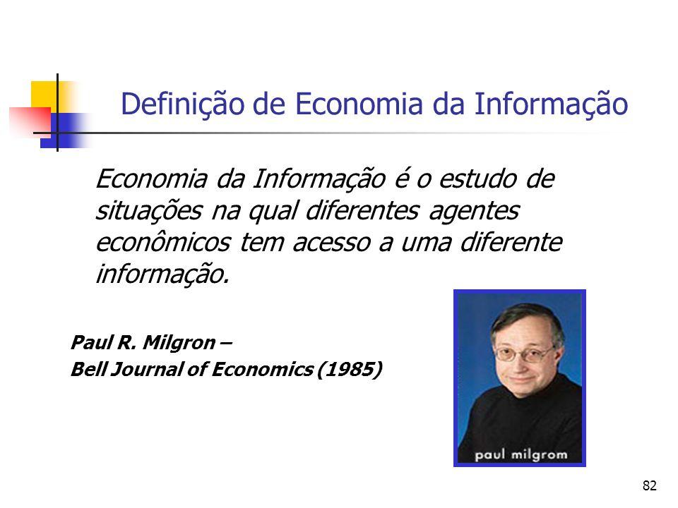 Definição de Economia da Informação