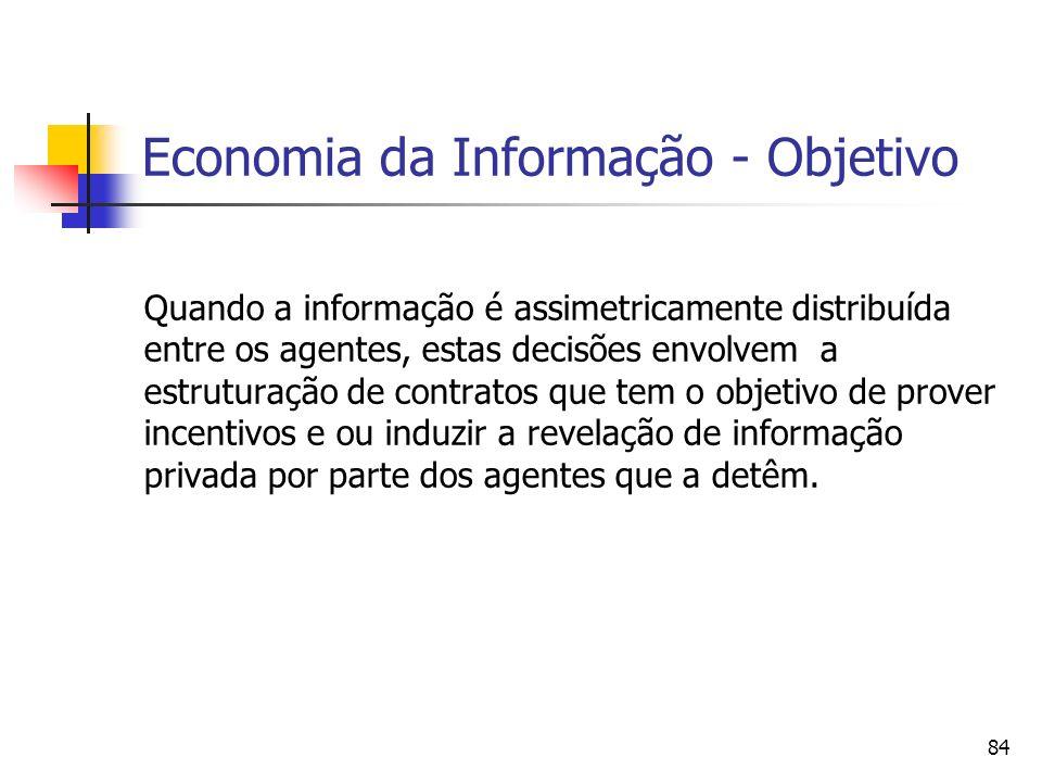 Economia da Informação - Objetivo