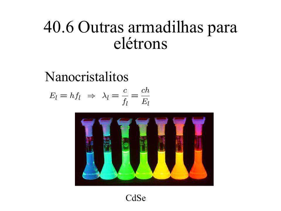 40.6 Outras armadilhas para elétrons