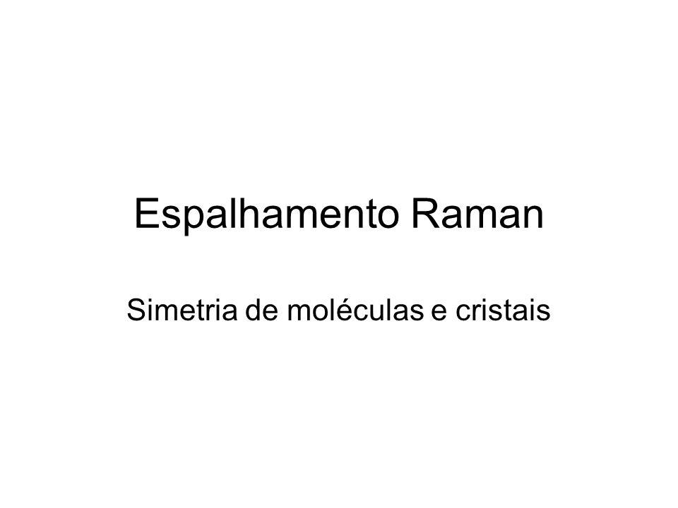 Simetria de moléculas e cristais