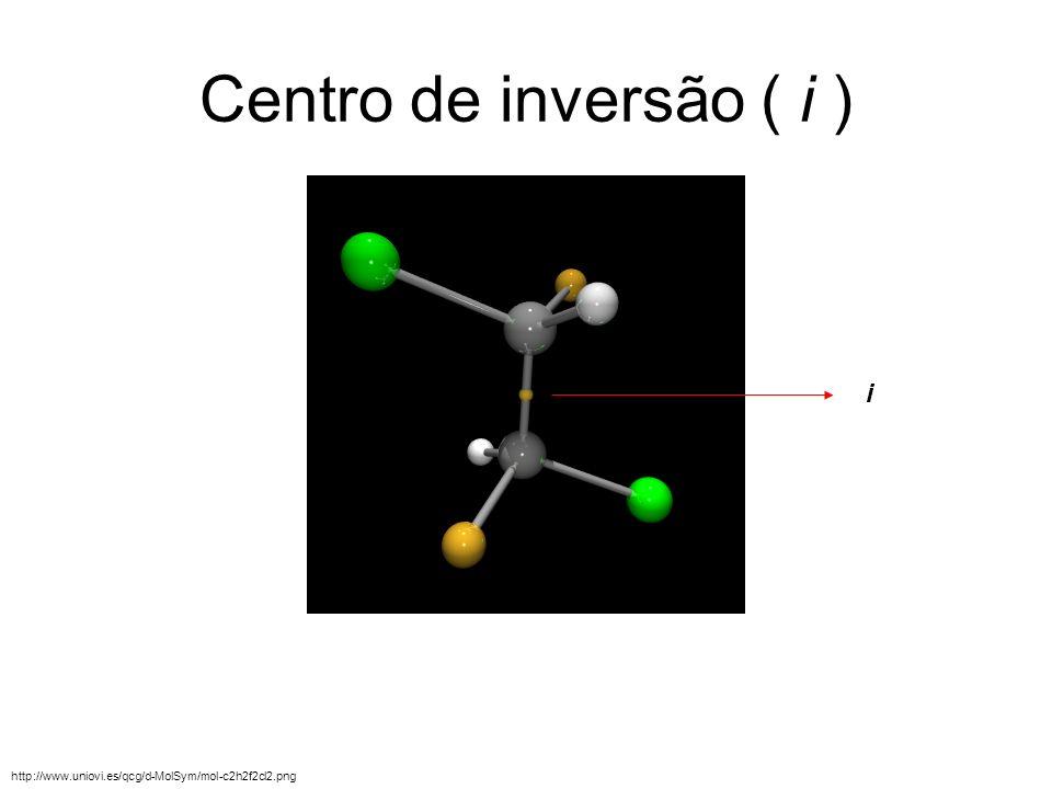 Centro de inversão ( i ) i