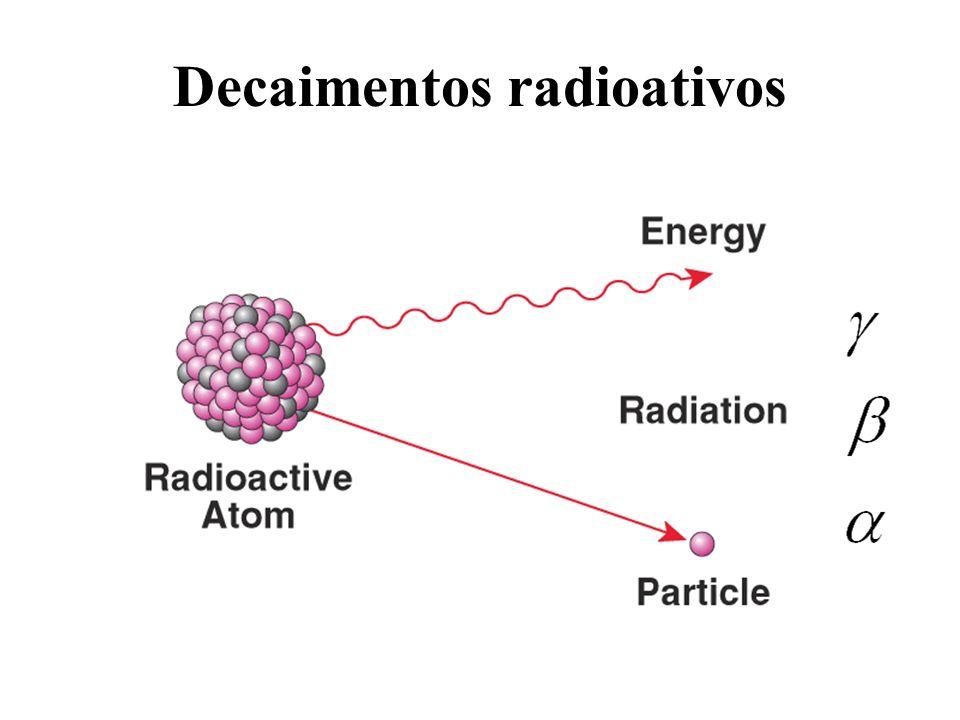 Decaimentos radioativos