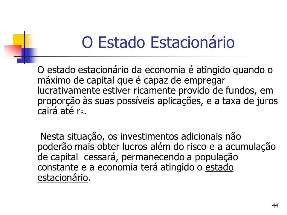 O Estado Estacionário