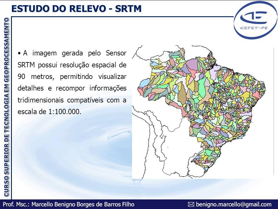 ESTUDO DO RELEVO - SRTM