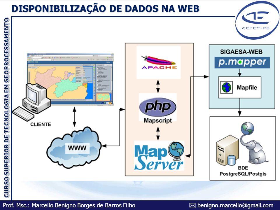 DISPONIBILIZAÇÃO DE DADOS NA WEB