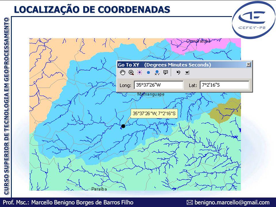 LOCALIZAÇÃO DE COORDENADAS