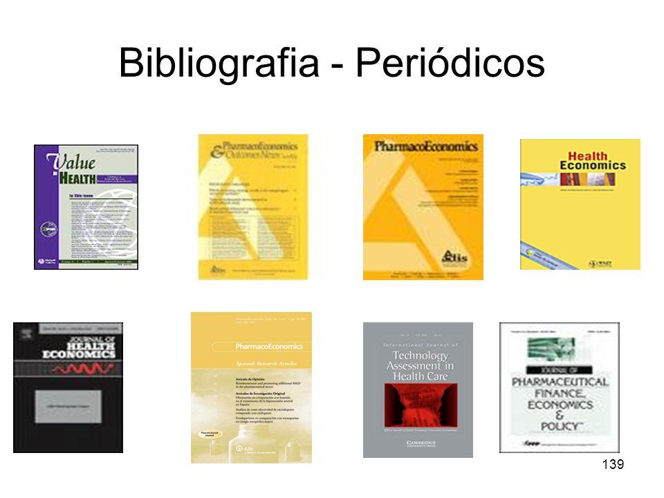 Bibliografia - Periódicos