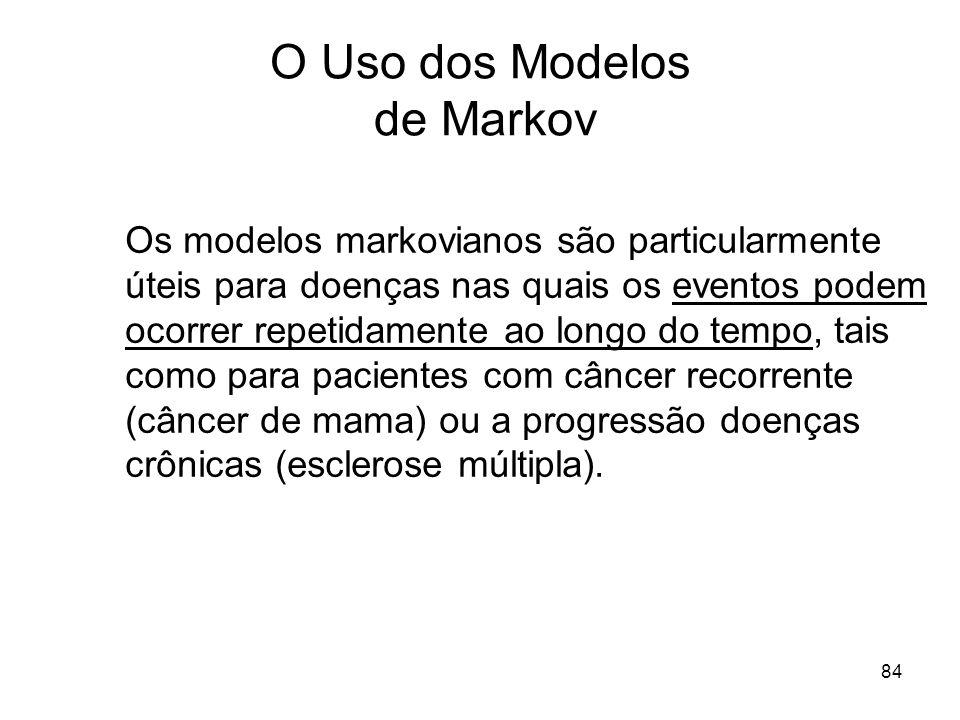 O Uso dos Modelos de Markov