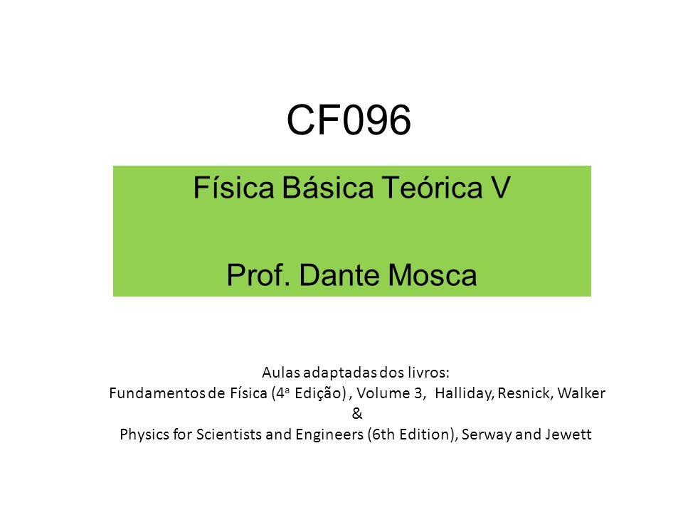 Física Básica Teórica V Prof. Dante Mosca