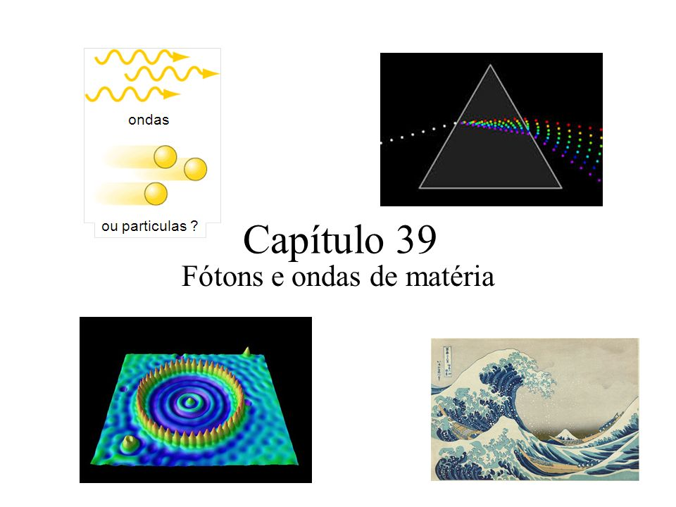 Fótons e ondas de matéria