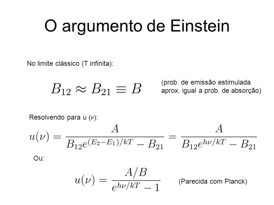 O argumento de Einstein
