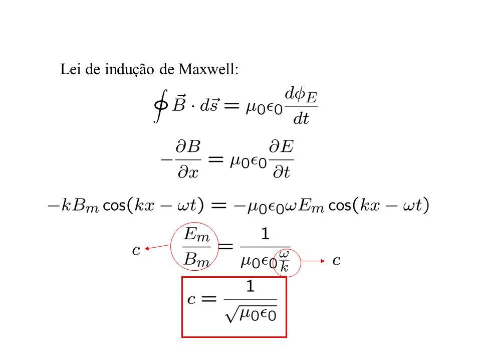 Lei de indução de Maxwell:
