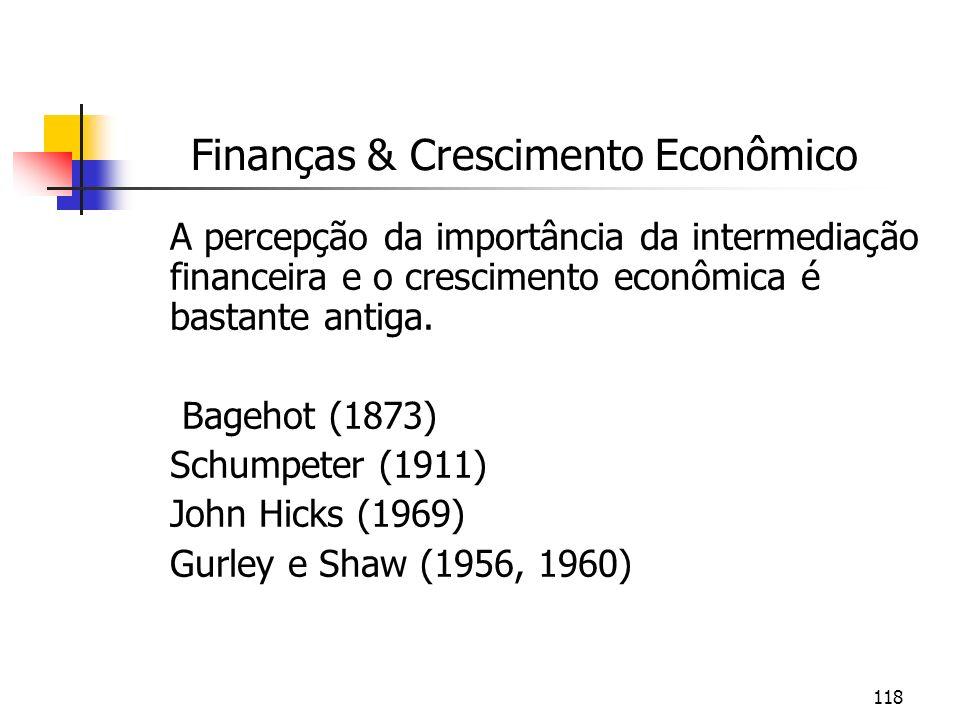 Finanças & Crescimento Econômico