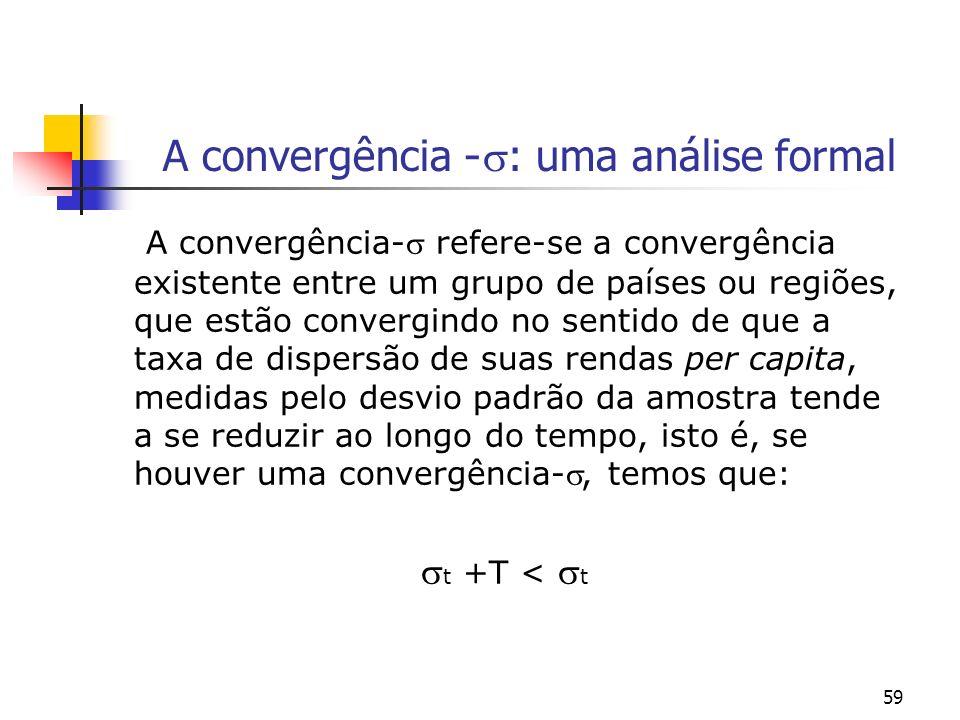 A convergência -: uma análise formal