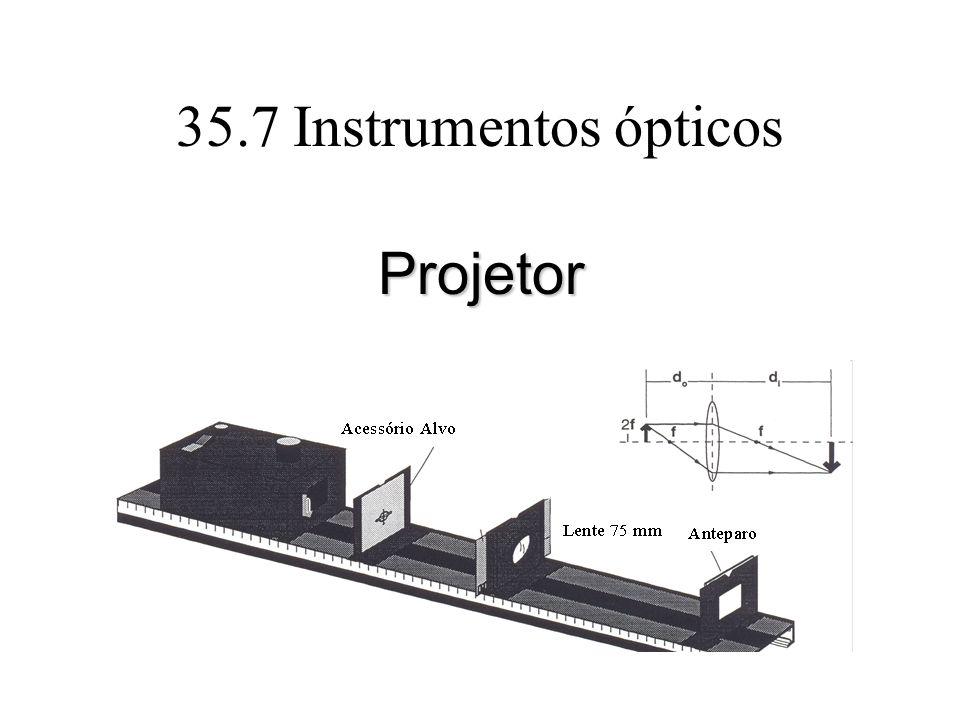 35.7 Instrumentos ópticos Projetor