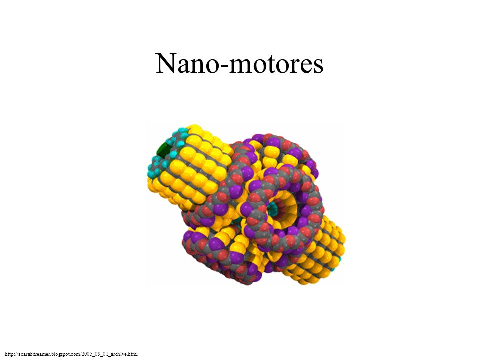 Nano-motores http://scarabdreamer.blogspot.com/2005_09_01_archive.html