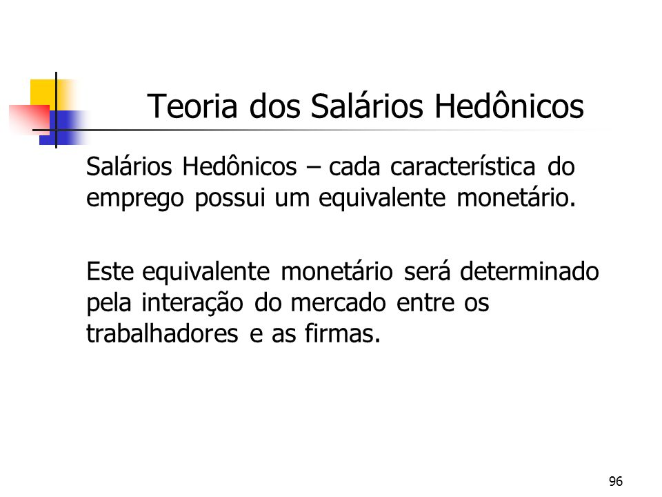 Teoria dos Salários Hedônicos