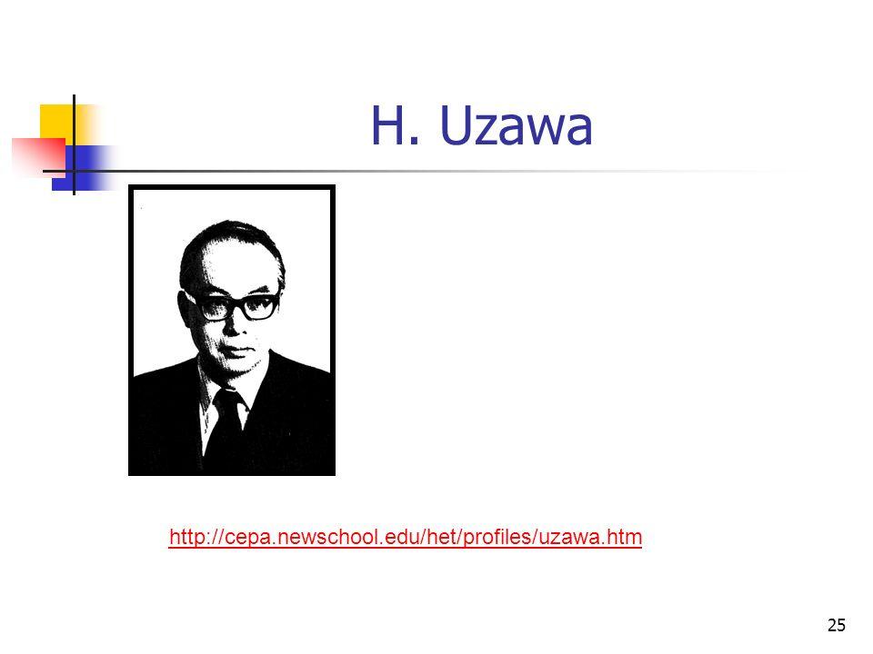 H. Uzawa http://cepa.newschool.edu/het/profiles/uzawa.htm