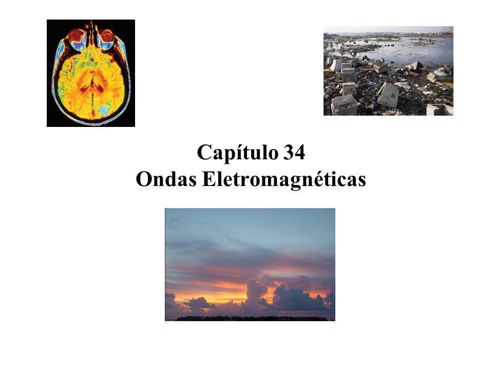 Capítulo 34 Ondas Eletromagnéticas