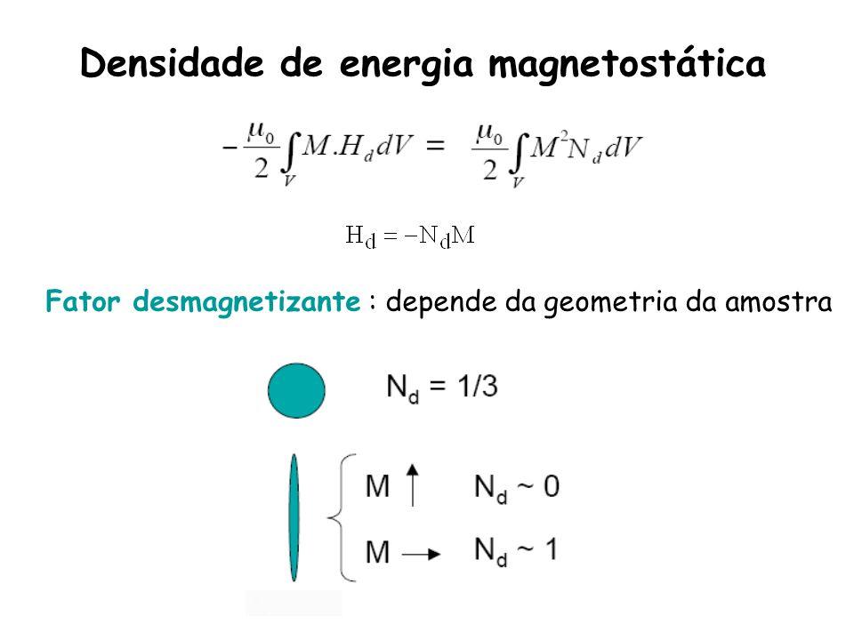 Densidade de energia magnetostática