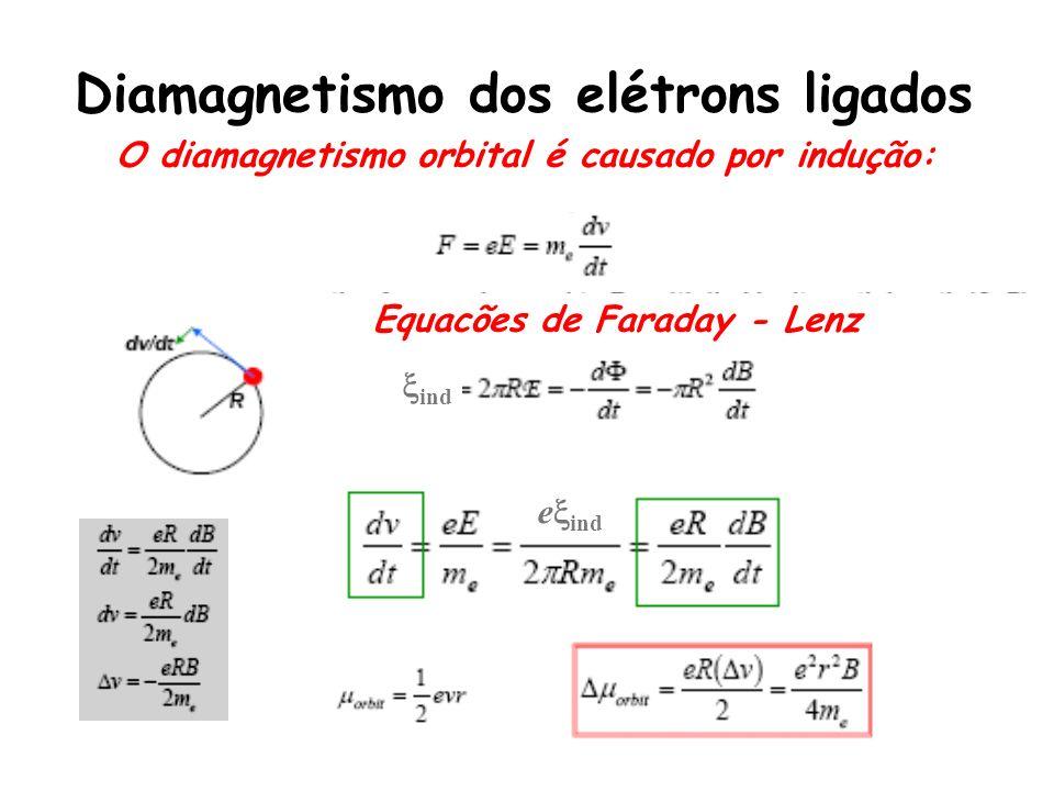Diamagnetismo dos elétrons ligados