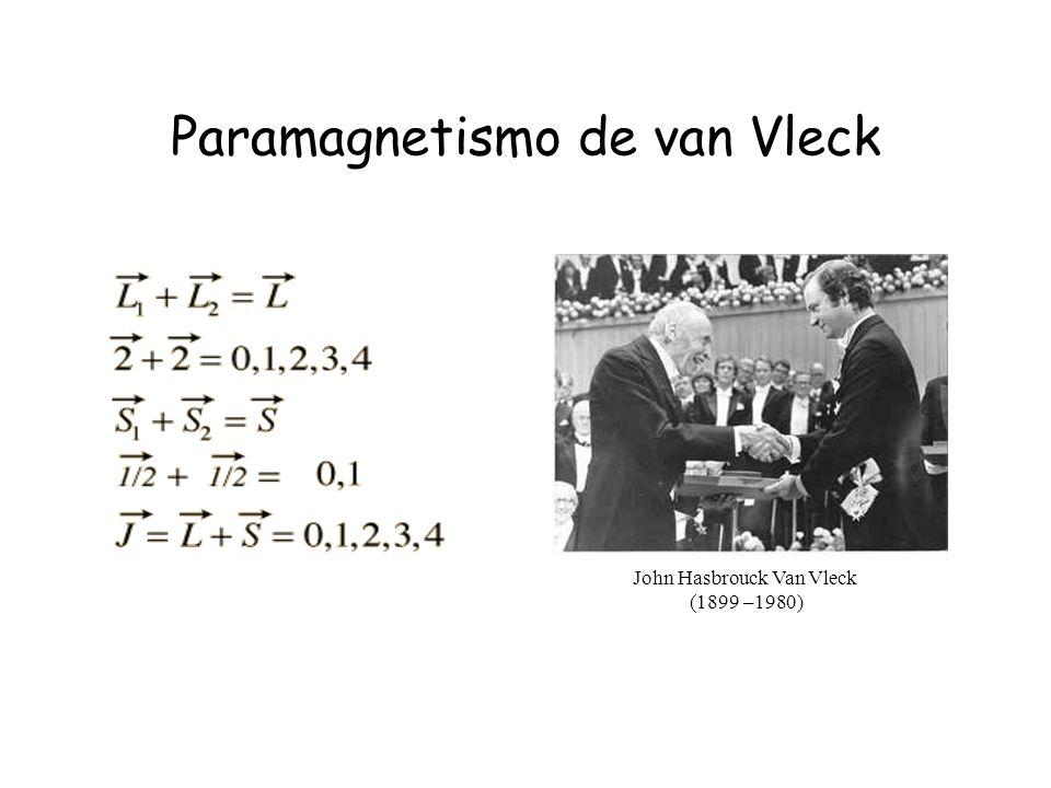 Paramagnetismo de van Vleck