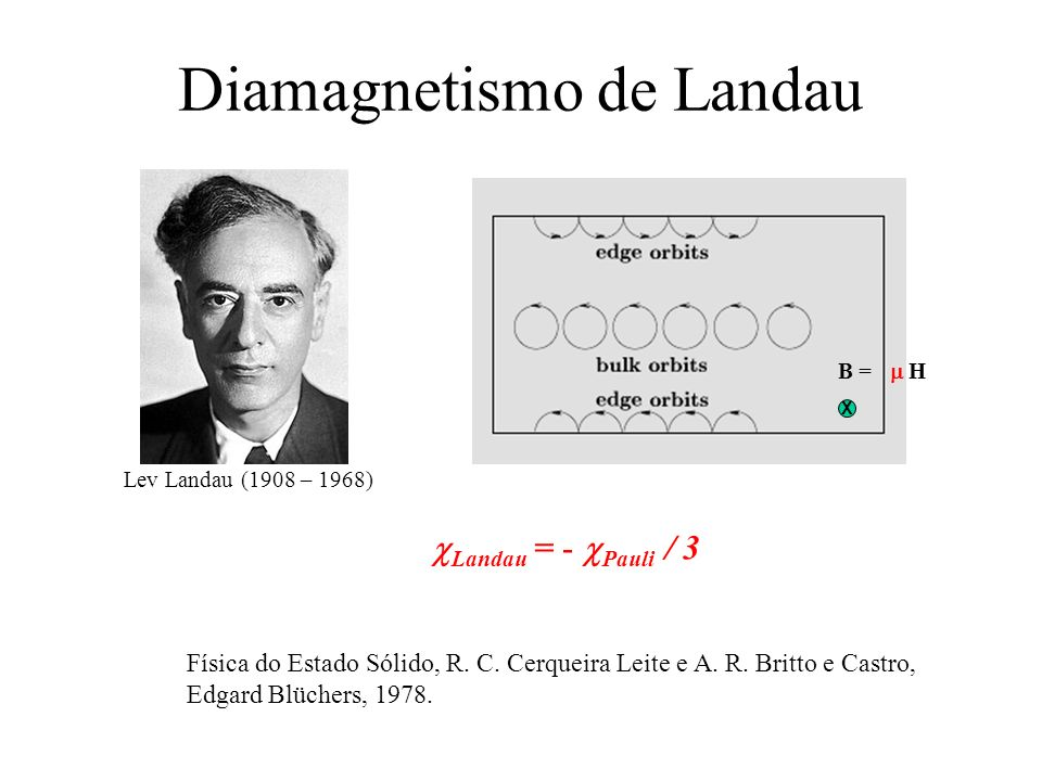 Diamagnetismo de Landau