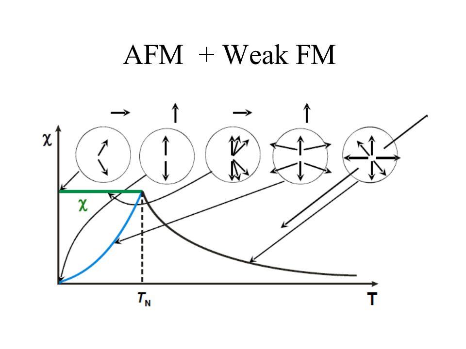 AFM + Weak FM