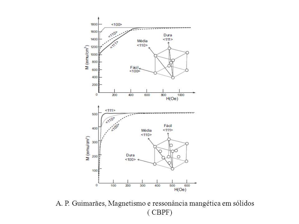 A. P. Guimarães, Magnetismo e ressonância mangética em sólidos