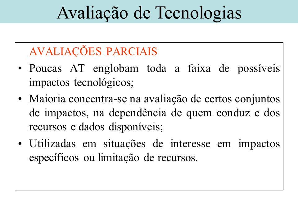 Avaliação de Tecnologias