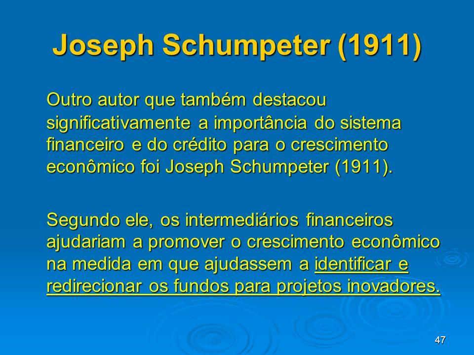 Joseph Schumpeter (1911)