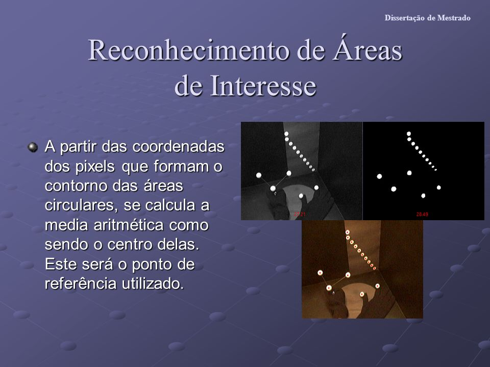 Reconhecimento de Áreas de Interesse