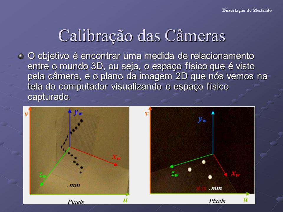 Calibração das Câmeras