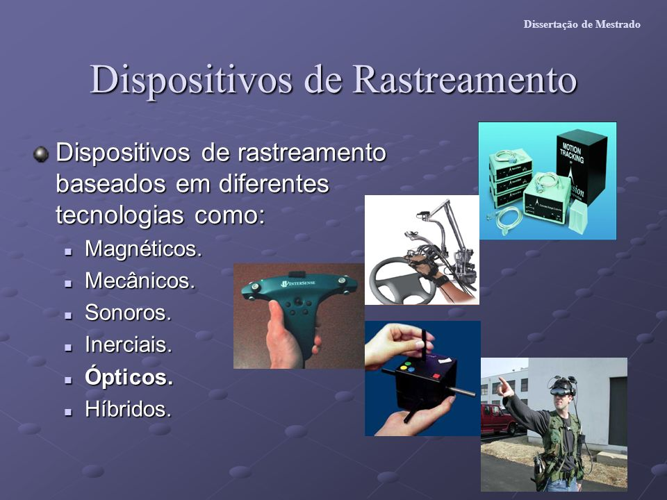 Dispositivos de Rastreamento