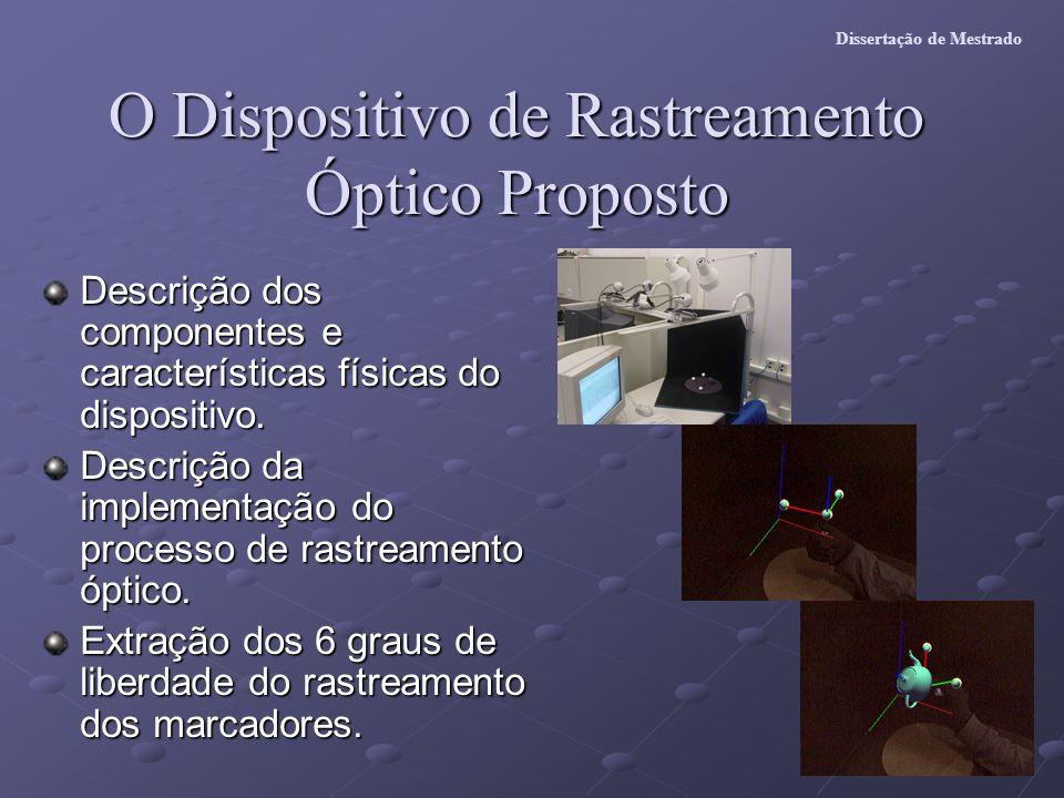O Dispositivo de Rastreamento Óptico Proposto