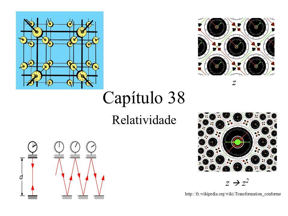 Capítulo 38 Relatividade z z  z2