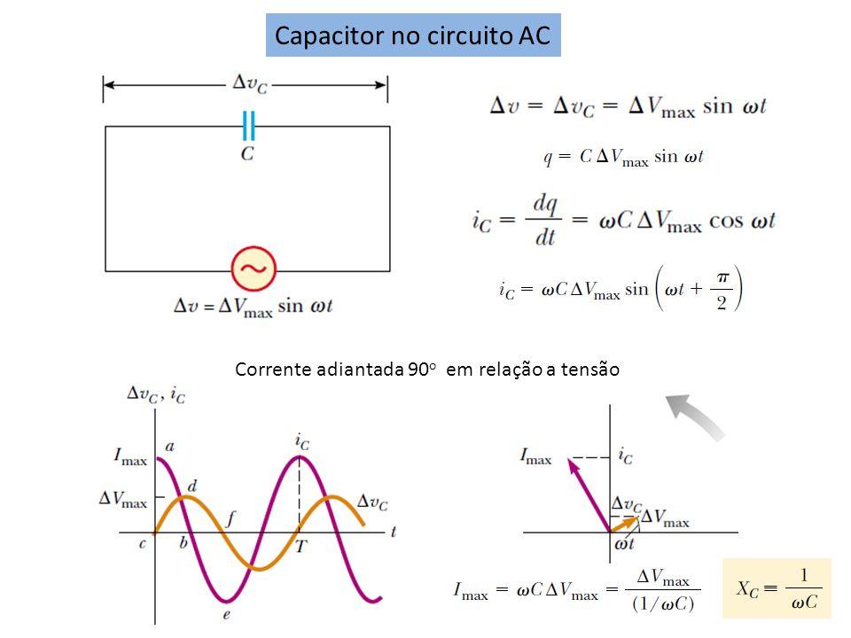Capacitor no circuito AC
