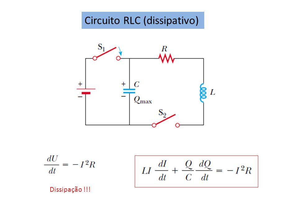 Circuito RLC (dissipativo)