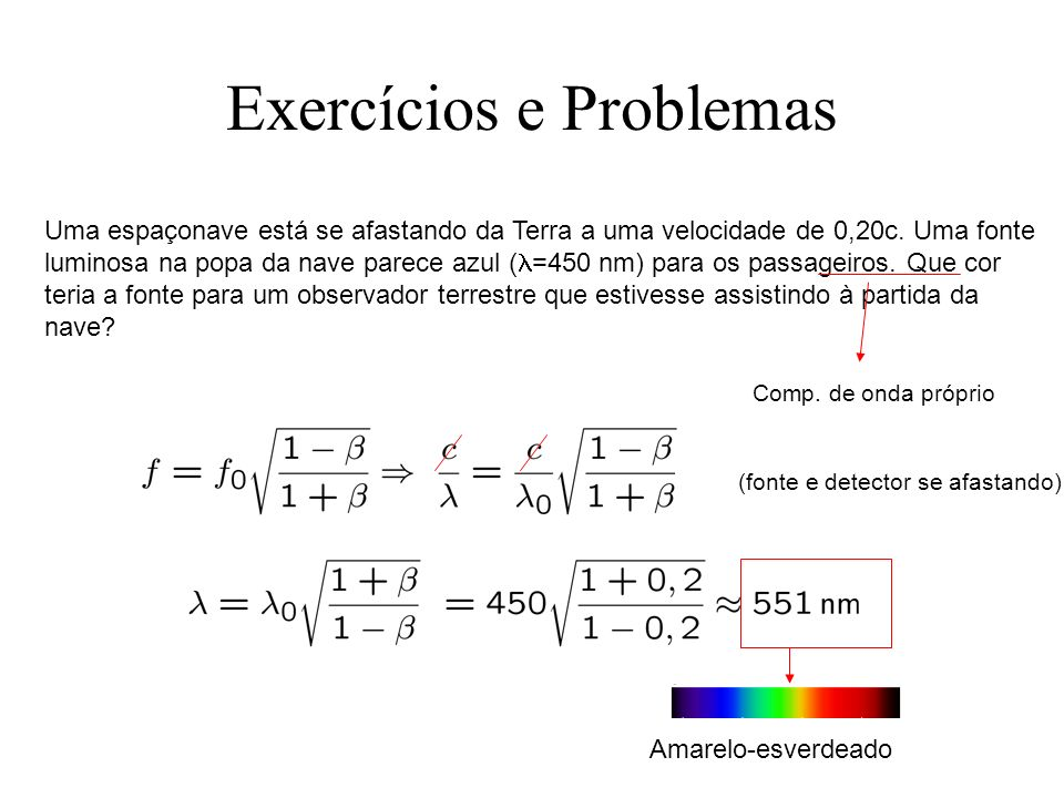 Exercícios e Problemas