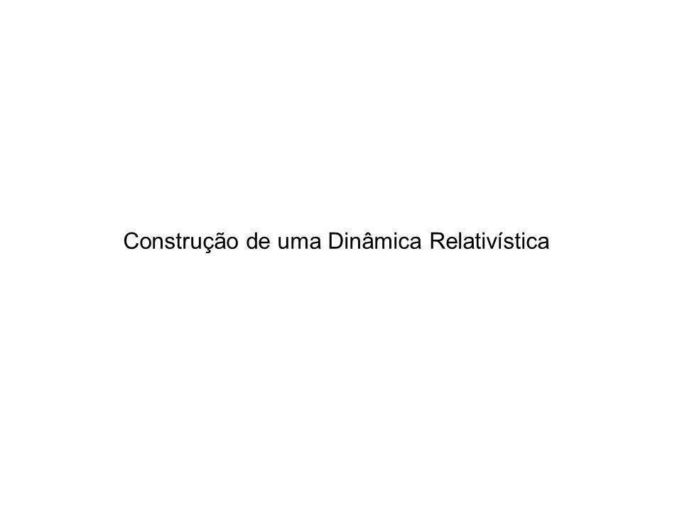 Construção de uma Dinâmica Relativística