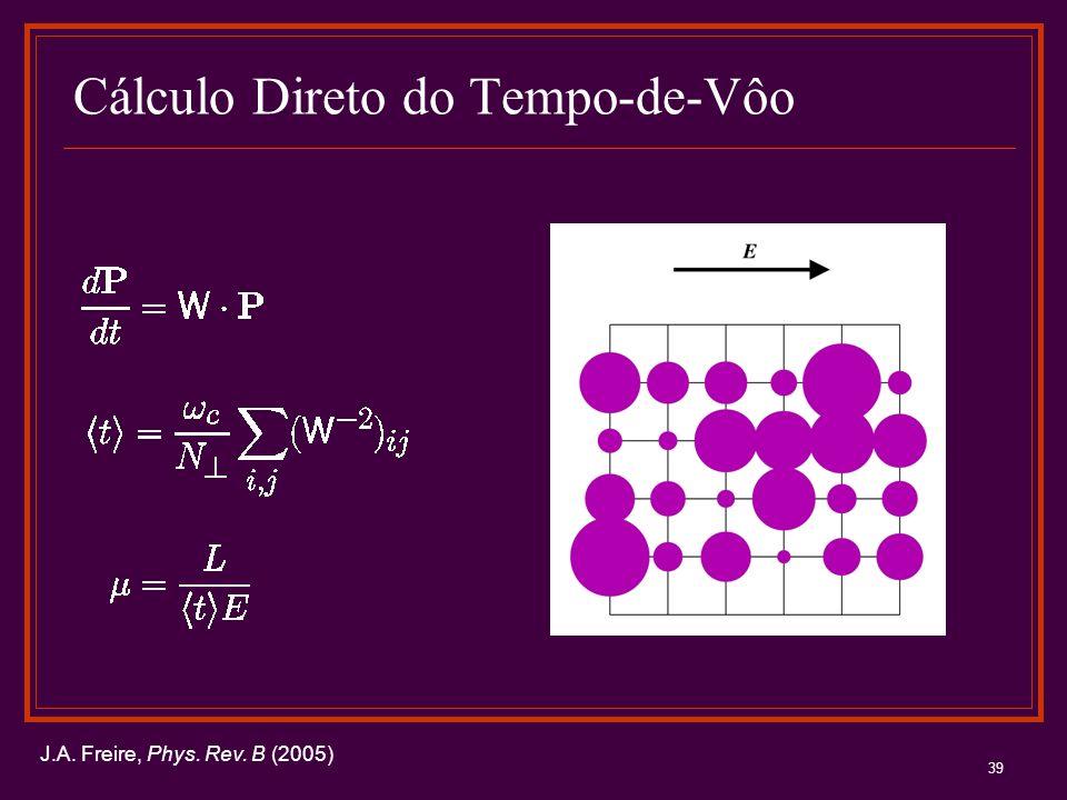 Cálculo Direto do Tempo-de-Vôo