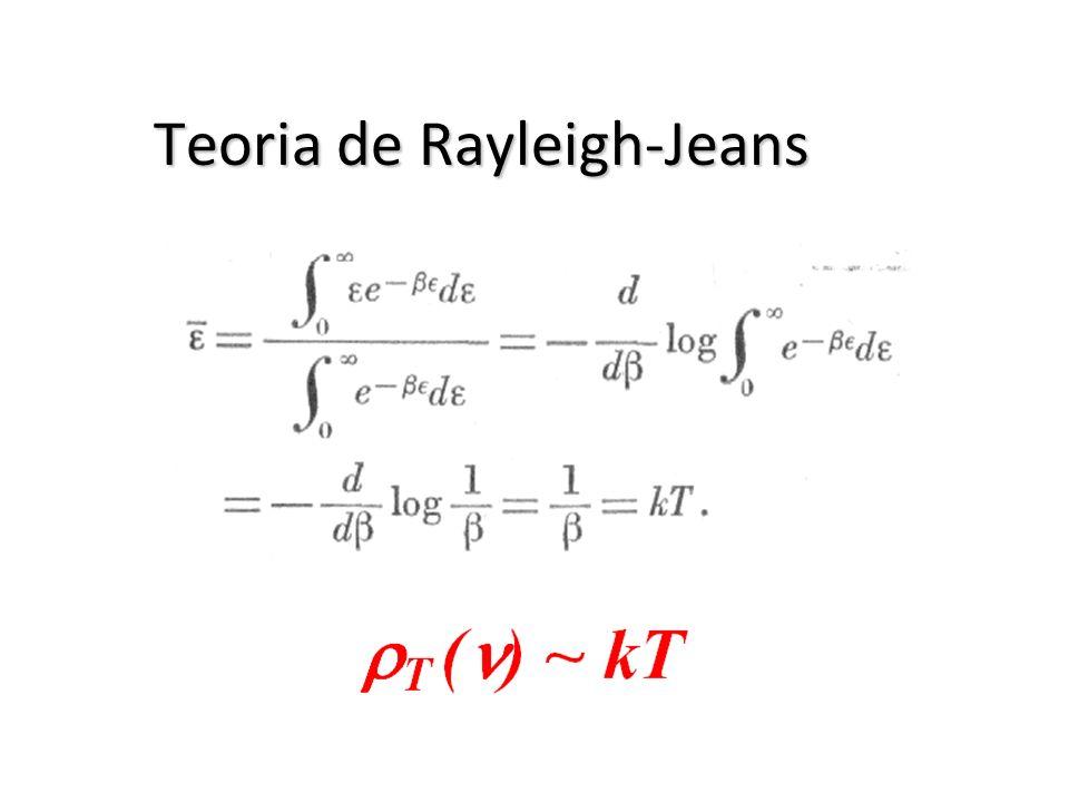 Teoria de Rayleigh-Jeans