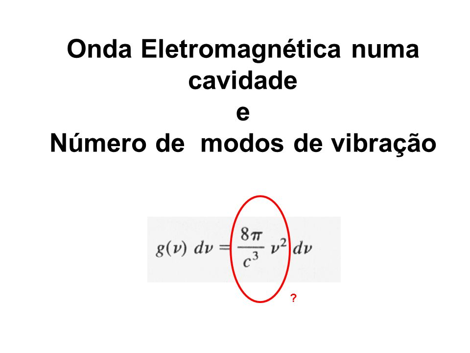 Onda Eletromagnética numa