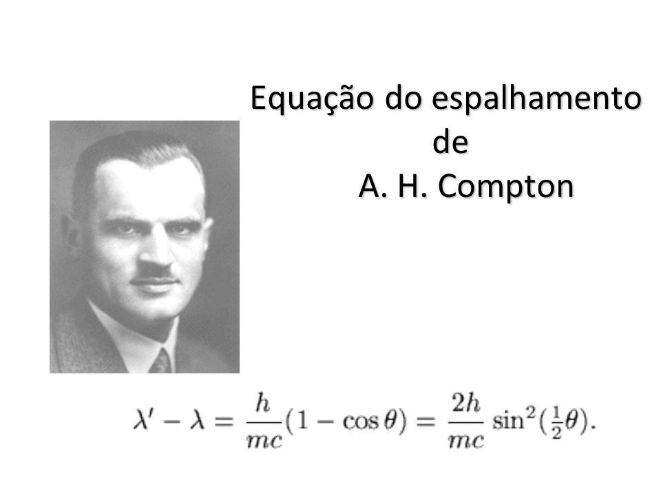 Equação do espalhamento de A. H. Compton
