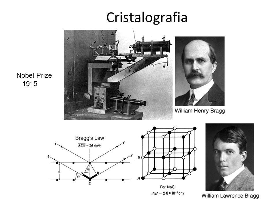 Cristalografia Nobel Prize 1915