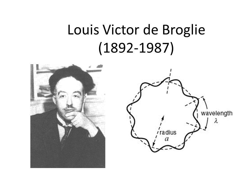 Louis Victor de Broglie (1892-1987)