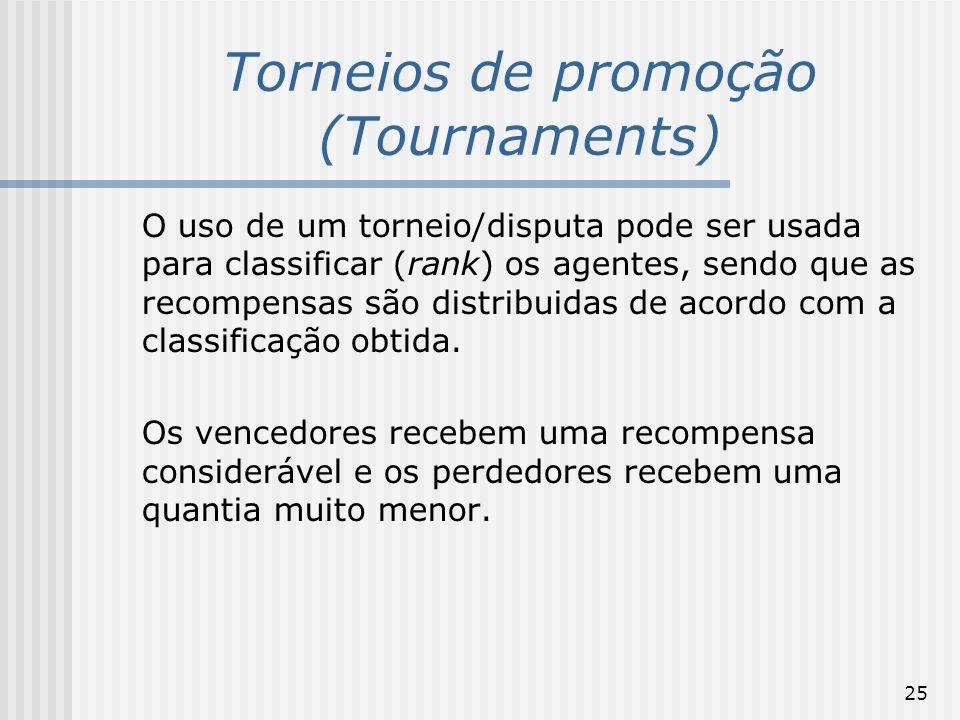 Torneios de promoção (Tournaments)