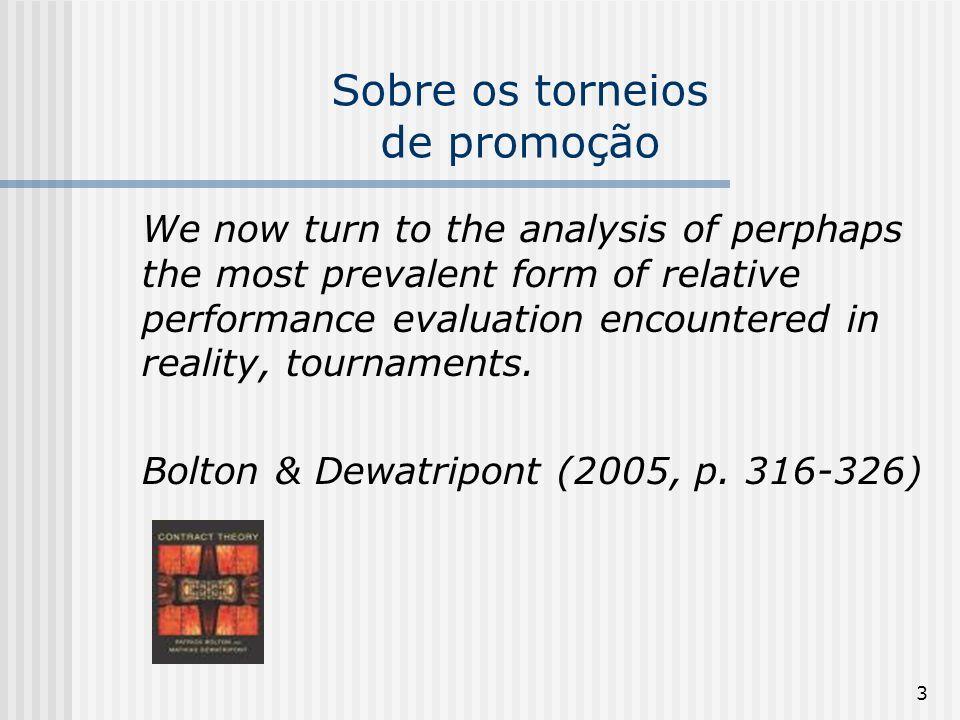 Sobre os torneios de promoção
