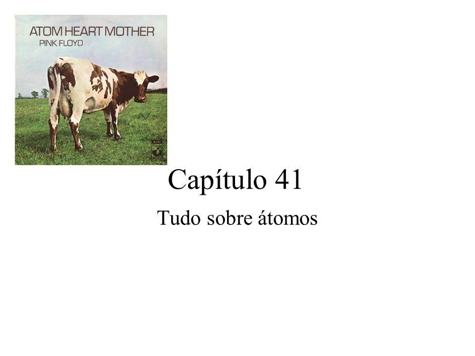Capítulo 41 Tudo sobre átomos