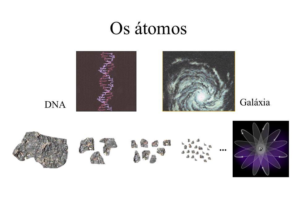 Os átomos Galáxia DNA ...
